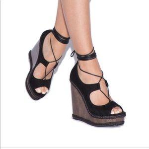 Shoedazzle marysol wedges sz 71/2 nwot